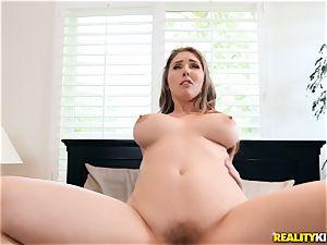 Lena Paul is kinky and rails on top