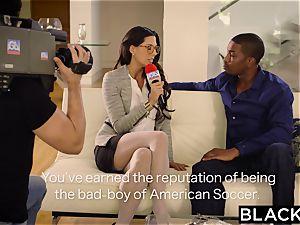 first-ever interracial for honey Alexa Tomas