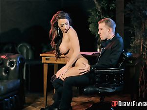 Abigail Mac takes on the monster pecker of Danny D