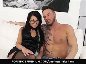 casting ALLA ITALIANA - crazy orgy with local inexperienced