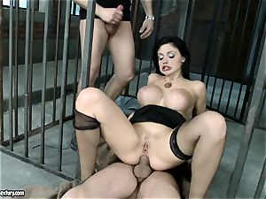 passionate red-hot Aletta Ocean gets a crevasse stretching boink she always wanted and craved