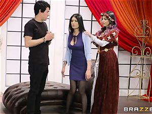 muff plumbed three with Yurizan Beltran and Brenna Sparks