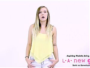 adorable ash-blonde seduced into ass fucking luving