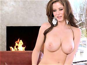 Emily Addison honey taking off her gorgeous underwear