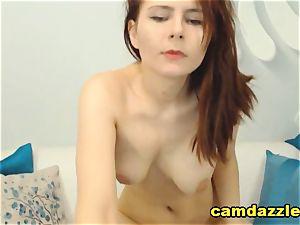 Dark dark-skinned Hair babe Gets ultra-kinky On webcam
