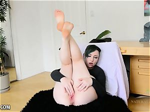 Blath playthings her willing pink pusy