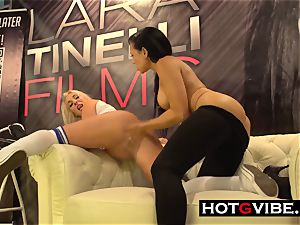 lesbians cunny eating and frolicking in PUBLIC