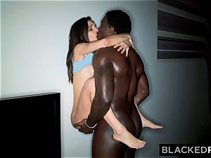 BLACKEDRAW Abella Danger Has The nastiest big black cock hook-up EVER