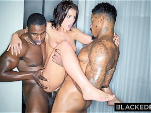 BLACKEDRAW Adriana Chechik Needs A double portion Of big black cock