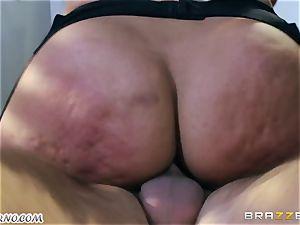 My dear helper Bridgette B with gigantic melons