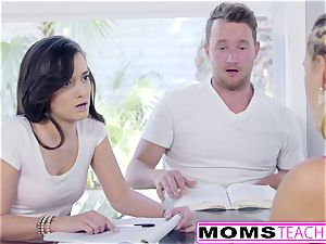 hot Step-Mom Cherie Deville entices daughters beau