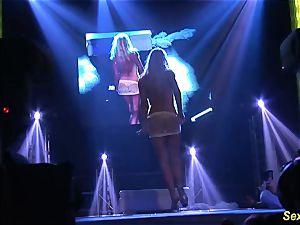 nasty flexi stepmom nude on stage
