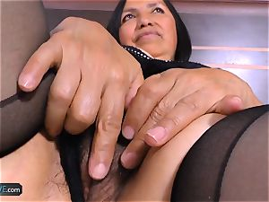 AgedLovE ultra-kinky Mature Latina lady hardcore bang-out