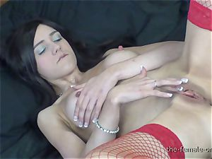 gigantic hard nipples, hefty pussy Lips, yam-sized pulsating climaxes