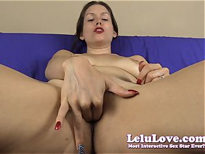 pov fingering my snatch for you with jerkoff instruction