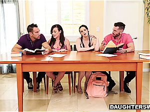 frolic daughters-in-law have something more exciting than tutoring in mind