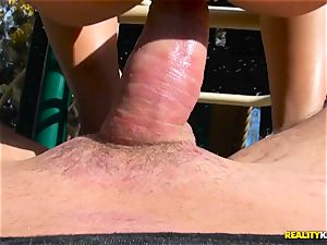 Blair Williams playground sizzling tear up