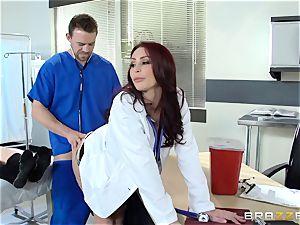 fantastic doctor Monique Alexander drills her trainee