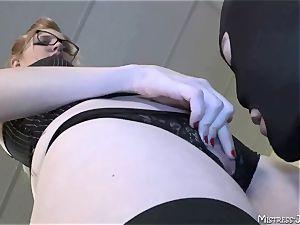 Many female dom mistresses dominate subjugated masculines
