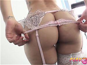 ass fucking three-way Gabriella Paltrova Madelyn Monroe