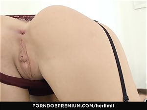 HER limit - Lovenia Lux gonzo rectal pulverize and gape