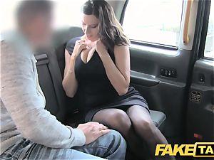 fake taxi super hot busty honey gets large jism shot