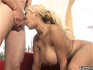 chesty Latina Bridgette B is boinked by a phat knob