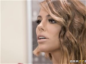 Adriana Chechik boinked in her fuckbox by a ebony trunk