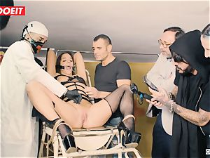 LETSDOEIT - Amirah Is abused at her first bdsm soiree