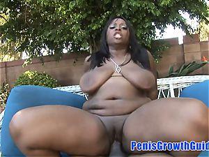 lush ebony Want An Outdoor lovemaking