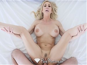 PUREMATURE milf cooter tucked by giant salami