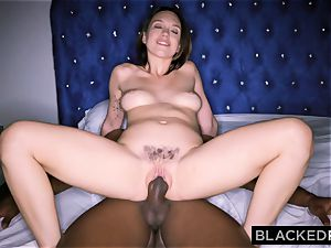 BLACKEDRAW Smoking Swinger wife attempts dark-hued weenie