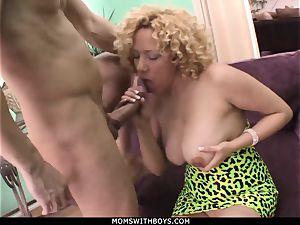 milf Michelle honey thick boobed Get spunk Showered