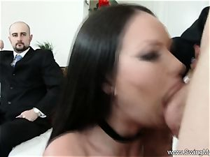 Exotic Swinger wife tears up Another stud