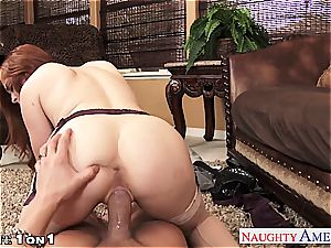 Ginger Penny Pax in point of view getting her poon rode
