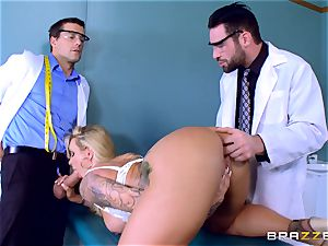 Doctors double ravaging ultra-kinky Ryan Conner