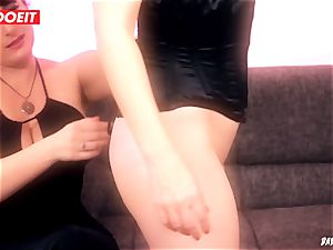 LETSDOEIT - black-haired Maid luvs domination & submission tough torture