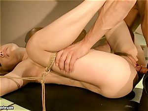 Lily luvs gets her sugary vagina nailed deep with her boyfriend's fuckpole