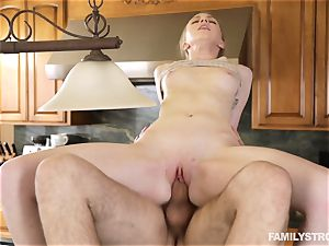 Abi grace pulverized by her step-dad