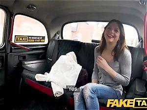 faux cab stiff boinking rocks taxi cab with tight vag
