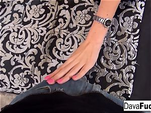 Dava's super hot point of view oral job