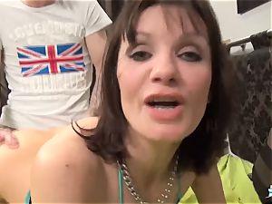 La Cochonne - Mature French unexperienced enjoys rump fisting