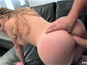 LiveGonzo Kagney Linn Karter luxurious babe Getting torn up