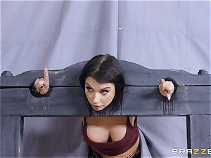 Ivy Lebelle gets a facial cumshot