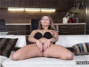 mind-blowing czech girl opens up her narrow honey pot to the exclusive