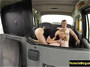 nymph cab driver ravaging her passenger
