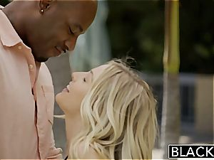 BLACKED first-ever multiracial 4 way for gorgeous Blondes Karla Kush and Jillian Janson