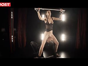 Czech stunner Candice Luca gets bound in wish ravage