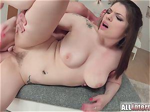 Allinternal dark haired tastes her assfuck internal cumshot