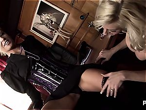 big-titted mother boinks her daughter's tutor